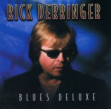 Rick Derringer-BLUES DELUXE-CD ALBUM NUOVO