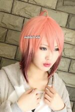 Sora no Otoshimono Ikaros pink brown ombre cosplay wig 150cm long  twin tails