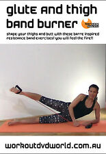Barre Ballet Style EXERCISE DVD - Barlates Body Blitz GLUTE & THIGH BAND BURNER!
