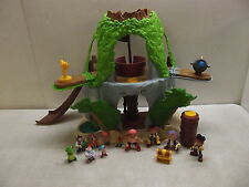 FISHER PRICE DISNEY JAKE & THE NEVERLAND PIRATES MAGICAL TIKI HIDEOUT & FIGURES