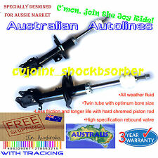 2 Struts Holden Barina XC Hatchback Brand New Front Shock Absorbers 2/01-9/05