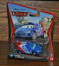 Disney Pixar Cars 2 Die Cast #9 Raoul Caroule 1:55 scale NEW