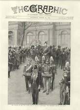 1892 Funeral Grand Duke Of Hesse Darmstadt