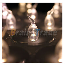 24pcs LED Warm White Tea Light Candle Light Lamp with Timer For Party Church