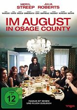 MERYL STREEP,JULIA ROBERTS,EWAN McGREGOR - IM AUGUST IN OSAGE COUNTY DVD NEU
