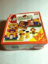 Vintage Lego Building Set - Basic 315 - Complete New In Box