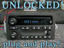 UNLOCKED 03 04 05 06 GM GMC SUBURBAN DENALI TRAILBLAZER STEREO RADIO DISC Player
