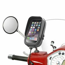 Vespa LX 50 125 150 Holder & Bag waterproof iPhone 7 6S 6 SE 5 4 & Smartphones