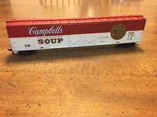 """HO Scale """"Campbell's Condensed Soup"""" Freight Train Box Car / Rare! - TYCO"""
