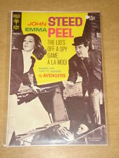 AVENGERS #1 FN (6.0) EMMA PEEL JOHN STEED GOLD KEY COMICS 1968 SCARCE