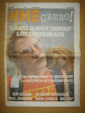 NME 1987 JUL 25 GAYE BYKERS CRAZYHEAD BOY GEORGE BIGZAP