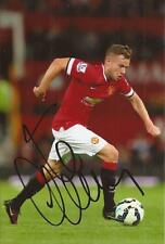 MAN UNITED * TOM CLEVERLEY SIGNED 6x4 ACTION PHOTO+COA