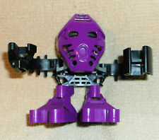 LEGO BIONICLE 1389 ONEPU MATORAN ARCHIVIST complete figure with a purple disk