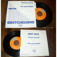 ROBERT GRETCH - Whistling The Guitar French PS 7' Library Surf Rock W/Languette