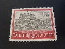 "GERMANY GERMANIA G. Gouvernement POLONIA REICH 1941 "" Cracovia "" 1V. Cpl set MH*"