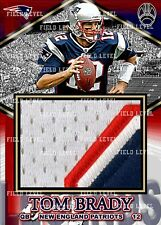 TOM BRADY NEW ENGLAND PATRIOTS CUSTOM HAND MADE JERSEY PATCH RELIC