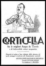 CORTICELLA ACQUA DA TAVOLA ANTICHE FONTI SALUTARI VITTORIO BORGHI BOLOGNA 1921