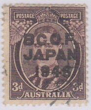 (R8-27) 1946 Australia 3d purple brown BCOF VFU owJ3