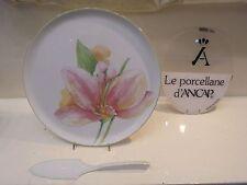 PIATTO DA TORTA con PALETTA in porcellana ANCAP - Cake plate with a scoop