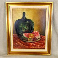 Pintura al óleo originales todavía vida sudafricano enumerados artista Carlo sdoya Firmado