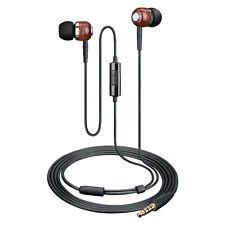 Takstar HI1200 In-ear Headphones Isolating Premium Wood Earphones Earphone PC DJ