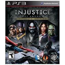 INJUSTICE:GODS AMONG US ULTIMATE EDITION PS3 ACTION NEW VIDEO GAME
