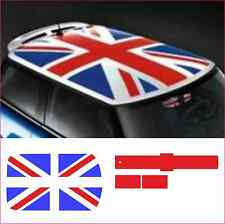 UNION JACK ROOF KIT FOR BMW MINI - RED AND BLUE (decals/stickers/graphics)
