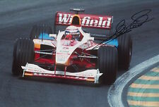 Alex Zanardi Hand Signed 12x8 Photo Winfield Williams F1 1.