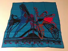 Amazing NWT Authentic HERMES Silk Twill CARRE Vintage Scarf 70cm