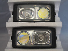 "6.5"" X 3"" DUAL TWO FOG LIGHTS UNIVERSAL FORD RAM GMC CHEVROLET CADILLAC JEEP"