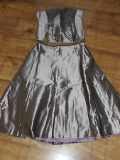 NEW Stunning MONSOON Bustier/Corset Skirt10RRP £160 Wedding Prom Christmas Party