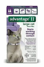 Advantage II for Large Cat Over 9 lbs. 2 Month Supply