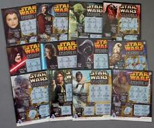 Star Wars Full Set of 12 UK National Lottery Scratchcards Darth Vader Luke R2-D2