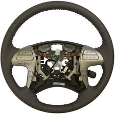 2007-2011 Toyota Camry Hybrid Steering Wheel Med. Grey Leather New 4510006L10B0