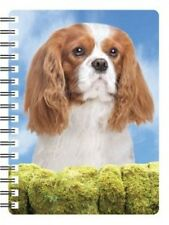 Cavalier King Charles Blenheim 3D Notebook