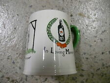 CARLTON WARE IN LOVING MEMORY LAST DROP  DRINKING MUG HUMOROUS CARTOON