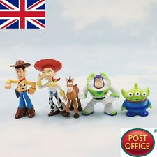 5x Cute Toy Story 3 Buzz Lightyear Woody PVC Figures Characters Doll Set Gift