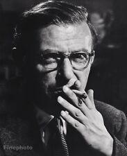 1951 Vintage 16x20 JEAN-PAUL SARTRE France Philosopher Novelist PHILIPPE HALSMAN