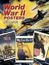 Dover Postcards: World War II Posters : 24 Cards (2001, Paperback)