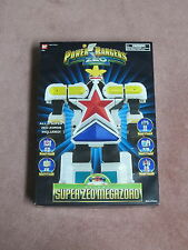 Power Rangers Deluxe Zeo Super Megazord With Unapplied Decals Inserts