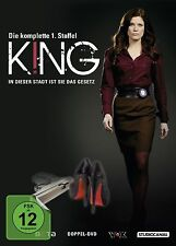 King - Staffel 1 DVD NEU + OVP