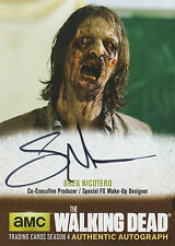The walking dead season 4/1 autograph card GN1 greg Nicotero