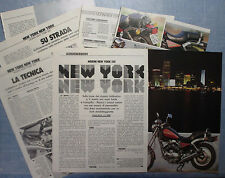 MOTOSPRINT988-PROVA / TEST-1988- MORINI NEW YORK 501 - 7 fogli