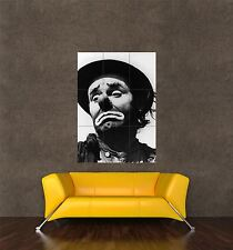 POSTER PRINT PHOTO PORTRAIT CIRCUS CLOWN SAD FACE SQUEAKY LIPS NOSE HAT SEB1005