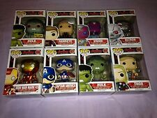 9x Marvel Avengers Age of Ultron POP Vinyl Figures with Exclusive Hulk & Vision