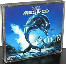 ECCO THE DOLPHIN GAME USED GOOD STATE SEGA MEGA CD IN EDIZIONE ITALIANA JM