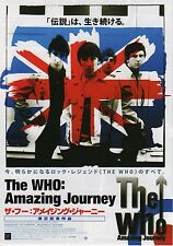 Amazing Journey: The Story of The Who - Original Japanese Chirashi Mini Poster