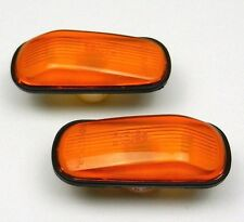 SAAB 9-3 9-5 900 9000 Side Wing Indicators Repeaters Lens Lamp Light NEW - AMBER