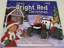 """Case IH for Kids """"Casey's Bright Red Christmas"""" Book with Casey & Friends"""