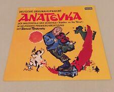 """Anatevka """"Fiddler on the Roof"""" Musical - Soundtrack OST - Vinyl Schallplatte LP"""